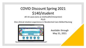 COVID 19  -   Online -Spring 2021